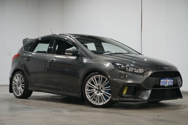 Used Ford Focus LZ RS AWD Welshpool, 2017 Ford Focus LZ RS AWD Magnetic 6 Speed Manual Hatchback