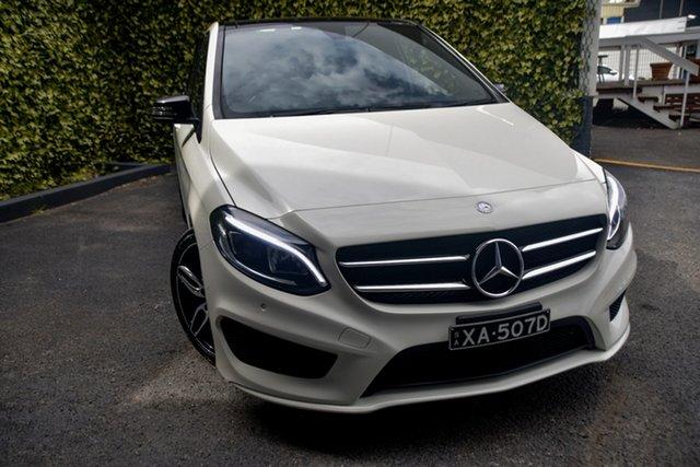 Used Mercedes-Benz B-Class W246 807MY B180 DCT St Marys, 2017 Mercedes-Benz B-Class W246 807MY B180 DCT White 7 Speed Sports Automatic Dual Clutch Hatchback