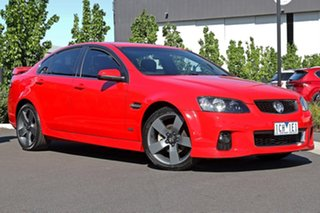 2013 Holden Commodore Red Sedan.