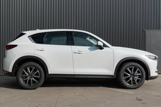 2020 Mazda CX-5 KF4WLA GT SKYACTIV-Drive i-ACTIV AWD Snowflake White Pearl 6 Speed Sports Automatic.