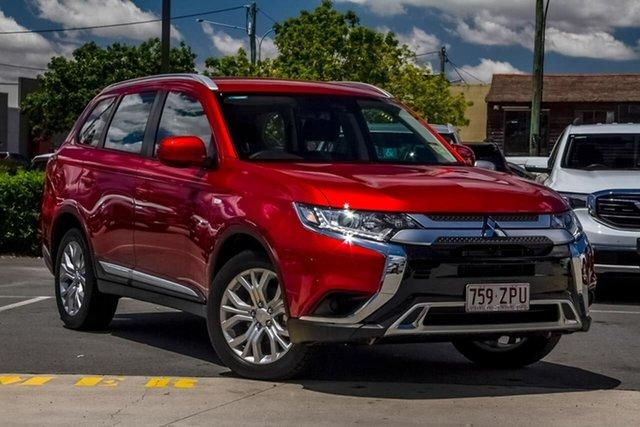 Used Mitsubishi Outlander ZL MY20 ES 2WD Aspley, 2020 Mitsubishi Outlander ZL MY20 ES 2WD Diamond Red 6 Speed Constant Variable Wagon