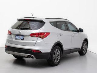 2014 Hyundai Santa Fe DM MY15 Active CRDi (4x4) Silver 6 Speed Automatic Wagon