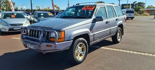 1997 Jeep Grand Cherokee ZG Limited Silver 4 Speed Automatic Wagon