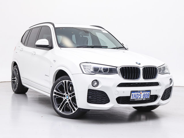 Used BMW X3 F25 MY15 xDrive20d, 2015 BMW X3 F25 MY15 xDrive20d White 8 Speed Automatic Wagon