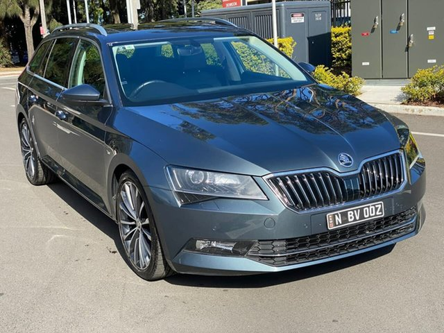 Used Skoda Superb NP MY16 162TSI Sedan DSG Botany, 2016 Skoda Superb NP MY16 162TSI Sedan DSG Grey 6 Speed Sports Automatic Dual Clutch Liftback