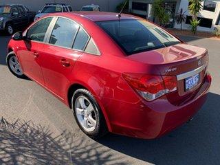 2010 Holden Cruze JG CD Red 5 Speed Manual Sedan.