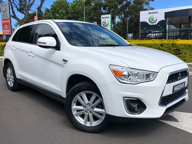 Used Mitsubishi ASX XB MY13 Aspire 2WD, 2012 Mitsubishi ASX XB MY13 Aspire 2WD Black 6 Speed Constant Variable Wagon