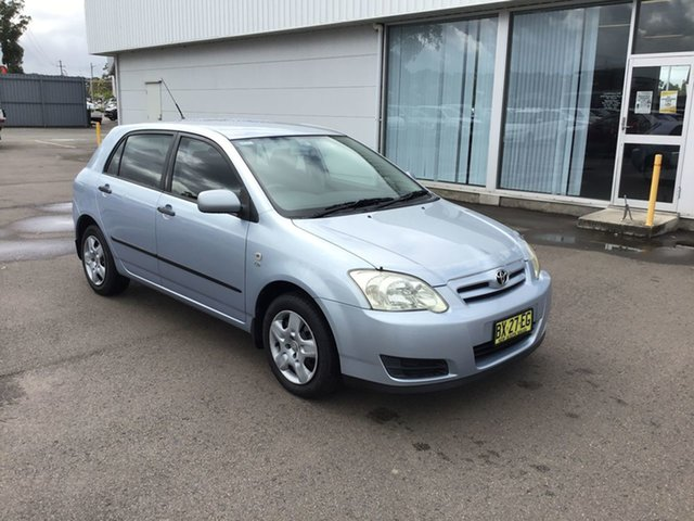 Used Toyota Corolla ZZE122R 5Y Ascent, 2006 Toyota Corolla ZZE122R 5Y Ascent Blue 4 Speed Automatic Hatchback