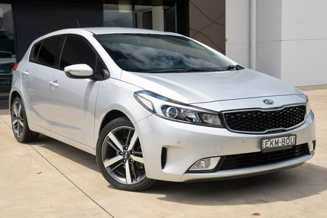 Used Kia Cerato YD MY17 S North Gosford, 2017 Kia Cerato YD MY17 S Silver 6 Speed Sports Automatic Hatchback