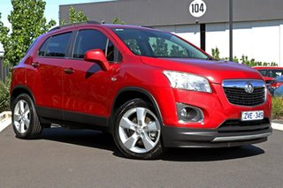 2013 Holden Trax Red Wagon.