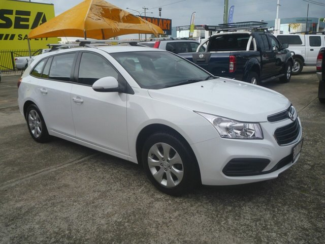 Used Holden Cruze JH Series II MY16 CD Sportwagon Morayfield, 2015 Holden Cruze JH Series II MY16 CD Sportwagon White 6 Speed Sports Automatic Wagon