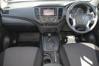 2020 Mitsubishi Triton MR MY20 GLX Double Cab White 6 Speed Sports Automatic Utility.