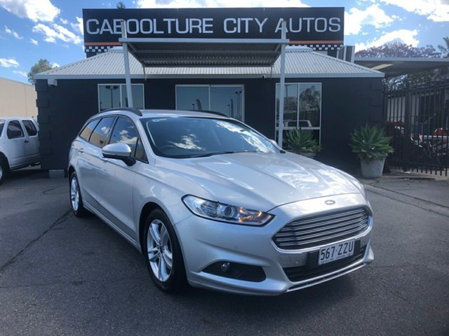 Used Ford Mondeo MD Ambiente TDCi Morayfield, 2015 Ford Mondeo MD Ambiente TDCi Silver 6 Speed Automatic Wagon