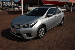 2015 Toyota Corolla ZRE172R Ascent S-CVT Silver Ash 7 Speed Automatic Sedan.