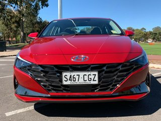 2020 Hyundai i30 CN7.V1 MY21 Active Fiery Red 6 Speed Sports Automatic Sedan