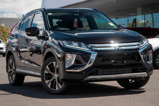 Demo Mitsubishi Eclipse Cross YA MY20 LS 2WD, 2020 Mitsubishi Eclipse Cross YA MY20 LS 2WD Black 8 Speed Constant Variable Wagon