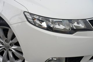 2012 Kia Cerato TD MY12 S White 6 Speed Sports Automatic Sedan