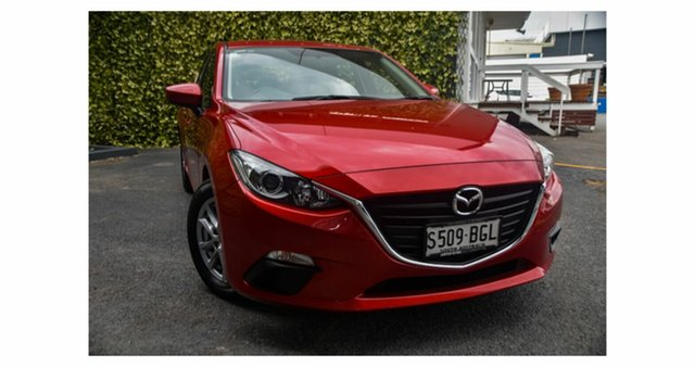 Used Mazda 3 BM5478 Neo SKYACTIV-Drive St Marys, 2015 Mazda 3 BM5478 Neo SKYACTIV-Drive Red/Black 6 Speed Sports Automatic Hatchback