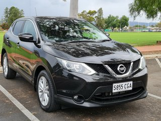 2014 Nissan Qashqai J11 TS Black/Grey 1 Speed Constant Variable Wagon.