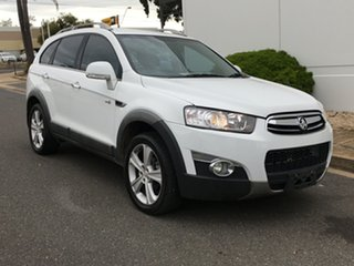 2011 Holden Captiva CG Series II 7 AWD LX White 6 Speed Sports Automatic Wagon