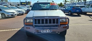 1997 Jeep Grand Cherokee ZG Limited Silver 4 Speed Automatic Wagon.