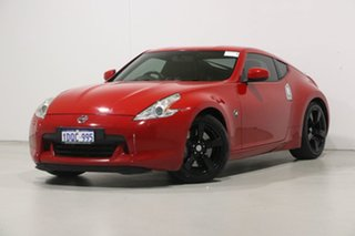 2009 Nissan 370Z Z34 Red 7 Speed Automatic Coupe.
