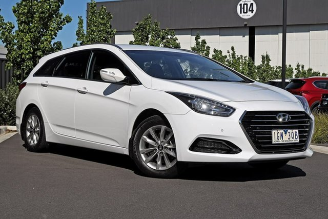 Used Hyundai i40 VF4 Series II Active Tourer D-CT Essendon Fields, 2015 Hyundai i40 VF4 Series II Active Tourer D-CT White 7 Speed Sports Automatic Dual Clutch Wagon