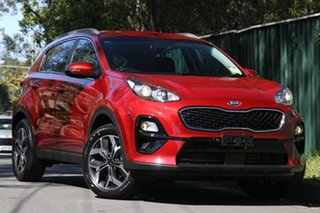 2020 Kia Sportage QL MY21 SX (FWD) Fiery Red 6 Speed Automatic Wagon.