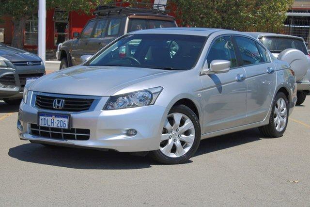 Used Honda Accord 8th Gen MY10 VTi-L Midland, 2010 Honda Accord 8th Gen MY10 VTi-L Silver 5 Speed Sports Automatic Sedan