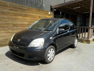 2005 Toyota Echo NCP10R MY03 Black 5 Speed Manual Hatchback