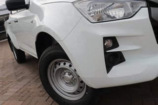 2020 Isuzu D-MAX RG MY21 SX Crew Cab 4x2 High Ride White 6 Speed Sports Automatic Utility.