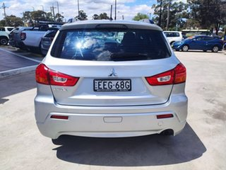 2010 Mitsubishi ASX XA MY11 2WD Silver 6 Speed Constant Variable Wagon