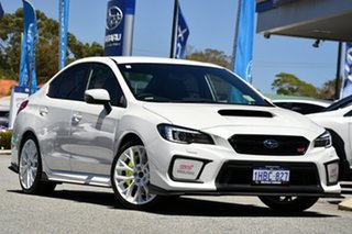 2020 Subaru WRX V1 MY20 STI AWD Crystal White 6 Speed Manual Sedan.
