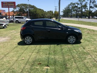 2009 Mazda 2 DE10Y1 Neo Black 5 Speed Manual Hatchback