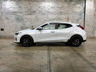 2019 Hyundai Veloster JS MY20 Turbo Coupe White 6 Speed Manual Hatchback