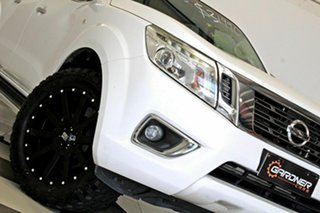2015 Nissan Navara NP300 D23 ST (4x2) White 6 Speed Manual Dual Cab Utility.