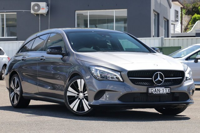 Used Mercedes-Benz CLA-Class X117 807MY CLA200 Shooting Brake DCT Brookvale, 2016 Mercedes-Benz CLA-Class X117 807MY CLA200 Shooting Brake DCT Silver 7 Speed