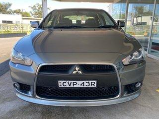 2014 Mitsubishi Lancer CJ MY15 LS Grey 6 Speed Constant Variable Sedan.
