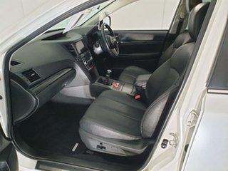 2012 Subaru Liberty B5 MY12 GT AWD Premium White 6 Speed Manual Sedan