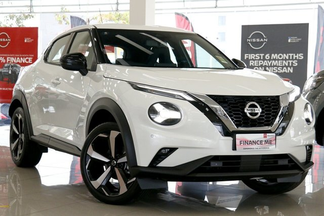 New Nissan Juke F16 ST-L DCT 2WD Launceston, 2020 Nissan Juke F16 ST-L DCT 2WD Ivory Pearl 7 Speed Sports Automatic Dual Clutch Hatchback