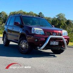 2005 Nissan X-Trail T30 II ST Red 4 Speed Automatic Wagon.