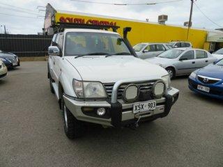 2001 Toyota Landcruiser Prado KZJ95R GXL (4x4) White 4 Speed Automatic 4x4 Wagon.