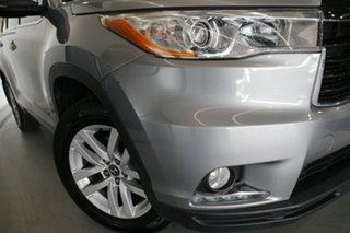 2016 Toyota Kluger GSU50R GX (4x2) Silver Sky 6 Speed Automatic Wagon.