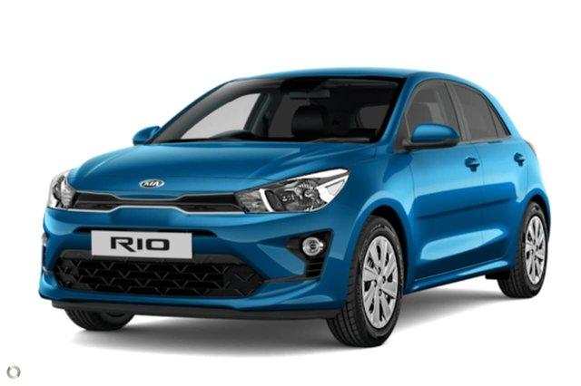 New Kia Rio YB MY21 S, 2020 Kia Rio YB MY21 S Blue 6 Speed Automatic Hatchback
