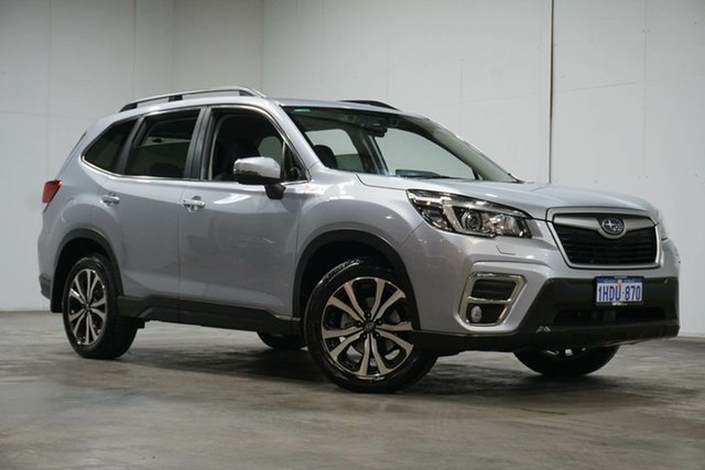 Used Subaru Forester S5 MY19 2.5i Premium CVT AWD Welshpool, 2019 Subaru Forester S5 MY19 2.5i Premium CVT AWD Silver 7 Speed Constant Variable Wagon