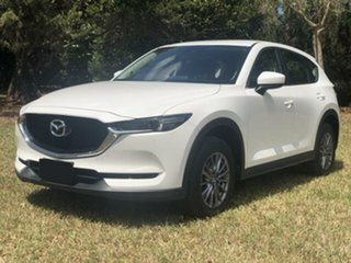 2017 Mazda CX-5 MY17.5 (KF Series 2) Maxx Sport (4x4) White 6 Speed Automatic Wagon