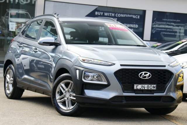 Used Hyundai Kona OS.3 MY20 Active 2WD Homebush, 2019 Hyundai Kona OS.3 MY20 Active 2WD Grey 6 Speed Sports Automatic Wagon