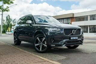 2018 Volvo XC90 L Series MY19 T6 Geartronic AWD R-Design Savile Grey 8 Speed Sports Automatic Wagon.