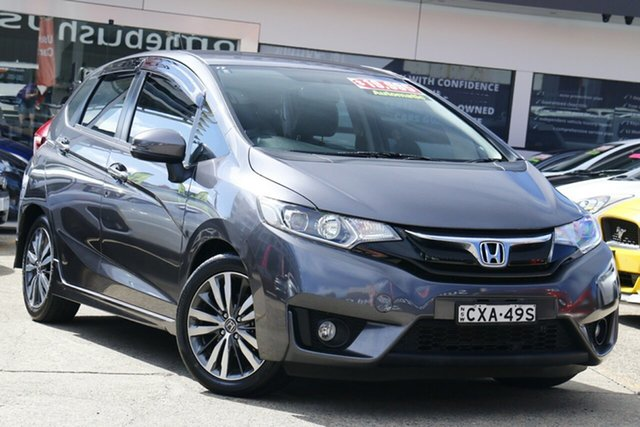Used Honda Jazz GK MY15 VTi-L, 2014 Honda Jazz GK MY15 VTi-L Grey Automatic Hatchback