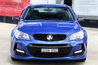 2016 Holden Commodore VF II SV6 Blue 6 Speed Automatic Sedan